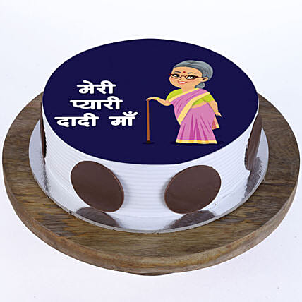 Photo Cake For Dadi Maa Online