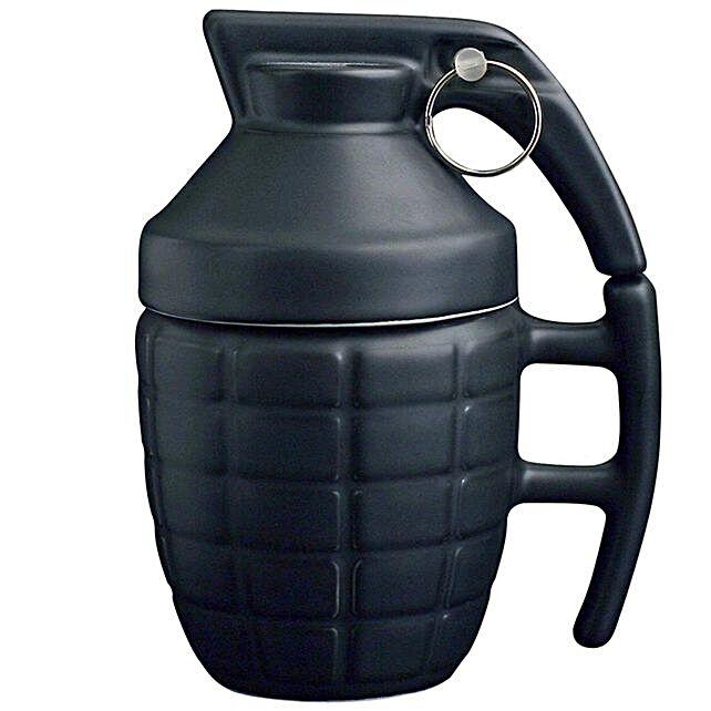 Online Grenade Style Coffee Mug:Unusual Gifts