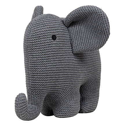 Online Grey Elephant Soft Toy:Send Soft toys to Jaipur