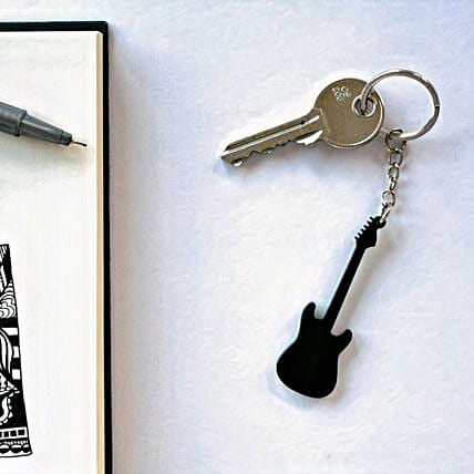 Keychain for Guitar Lovers