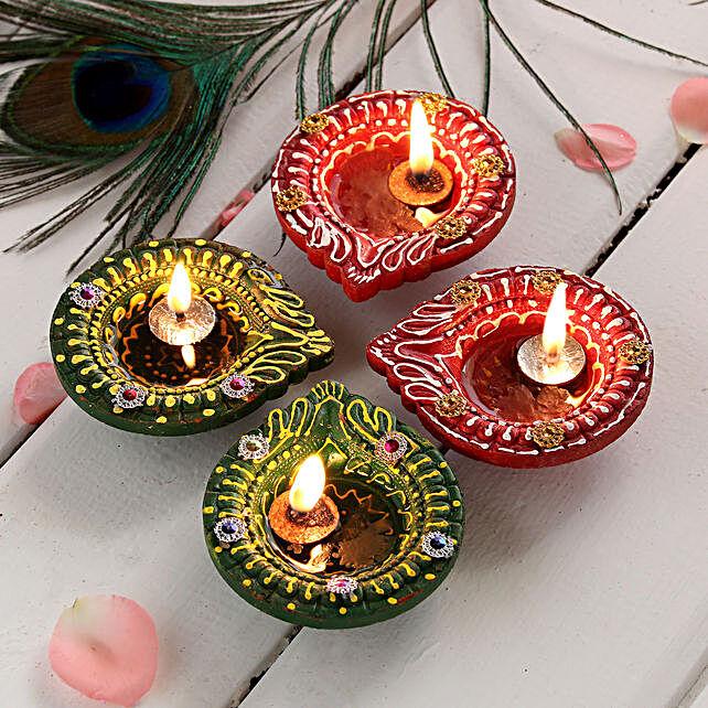 Classic Set of Diwali Diyas