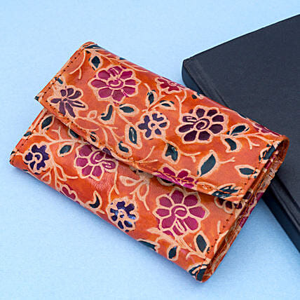 Hand Painted Premium Leather Women s Wallet