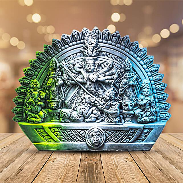 terracotta handmade durga:Navratri Gifts