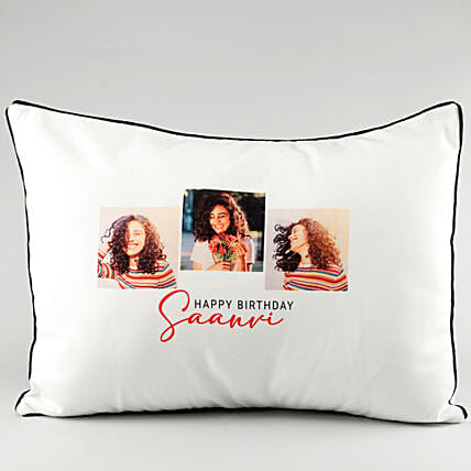 Photo Pillow Cover For Her:Personalised Pillow-covers