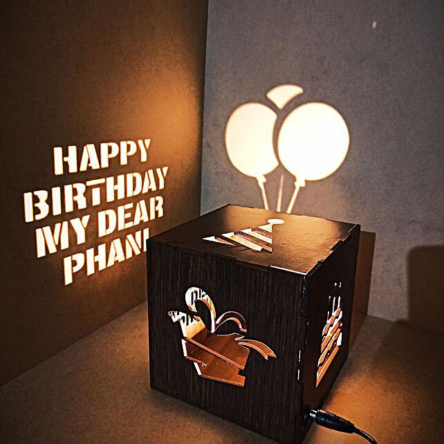 Online Birthday Shadow Box