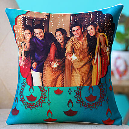 printed happy diwali cushion online