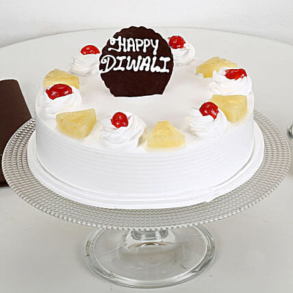 Fruit cake for diwali:Send Happy Diwali Cakes