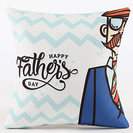 Printed Cushion for Fathers Day
