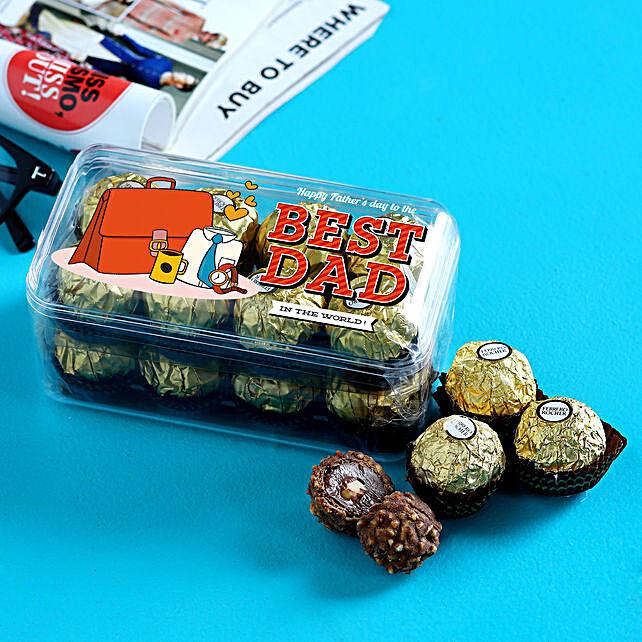 Happy Fathers Day Ferrero Rocher Box 16 Pcs