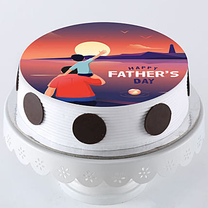 Online Photo Cake For Dad