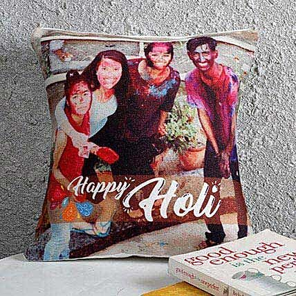 Personalized Holi Cushion