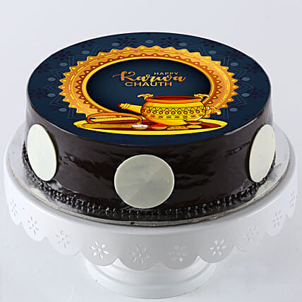 Karva Chauth Photo Cake Online