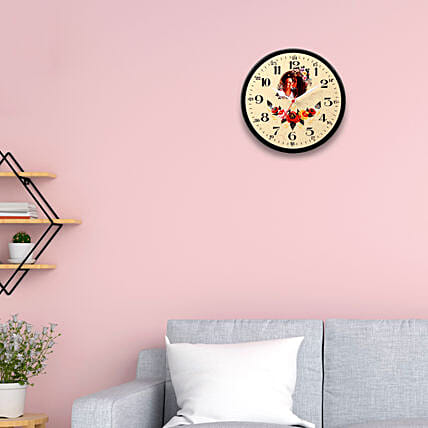 Happy Mothers Day Personalised Round Wall Clock