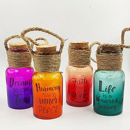 LED Jars with Quotes