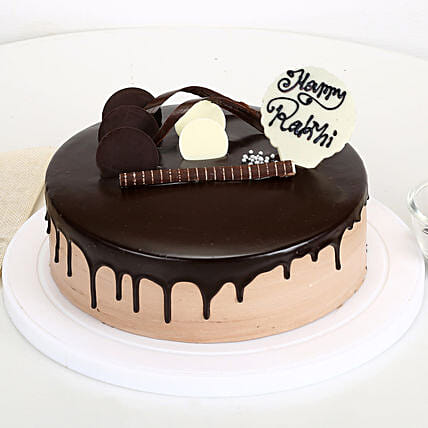 Happy Rakhi Chocolate Cake