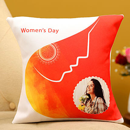 Happy Women s Day Personalised Cushion Hand Delivery