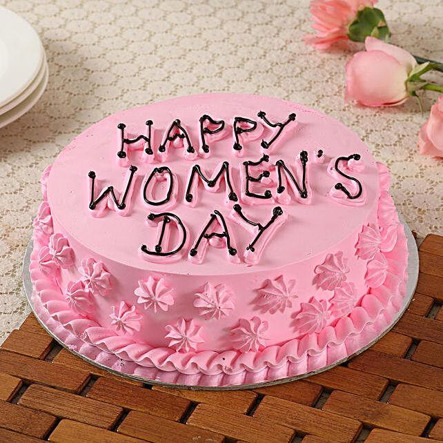 Women's Day Online Cake:Women's Day Cake