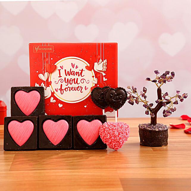 Have My Heart Chocolate Box and Wish Tree:Milk Chocolates