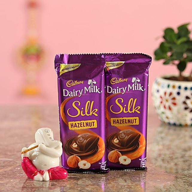 Hazelnut Chocolate Ganesha Idol