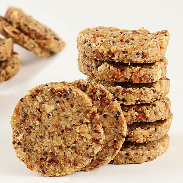 Online Ragi Almond Cookies:Gluten Free Desserts