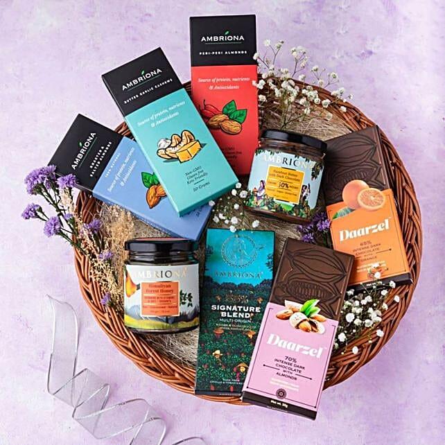 Online Healthy Snack Basket