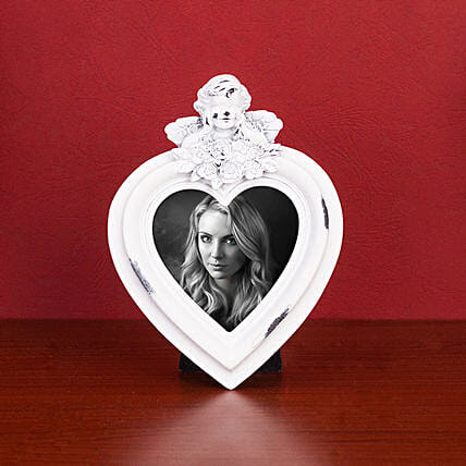 Online Heart Shaped Photo Frame