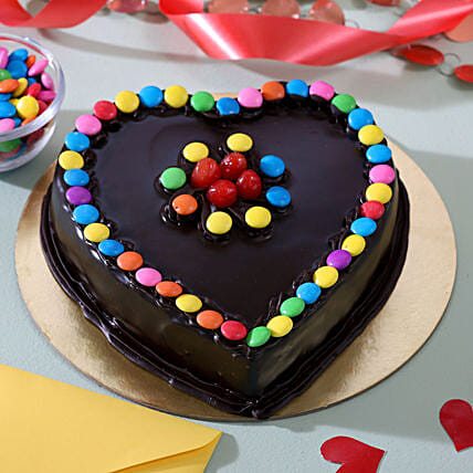 Colourful Chocolate Cake for Her