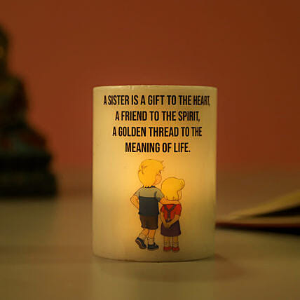 Candle for Rakhi Online