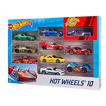 Hot Wheels Pcak of 10 Cars Online