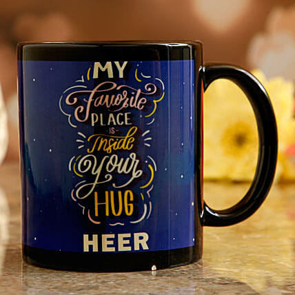 personalised valentine's day mug online:Hug Day Gifts