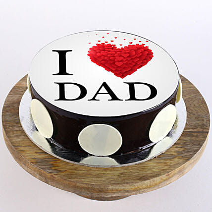Customised cake for dad online