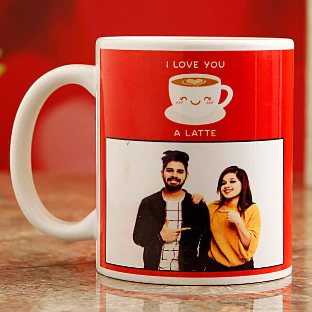 love theme mug for vday