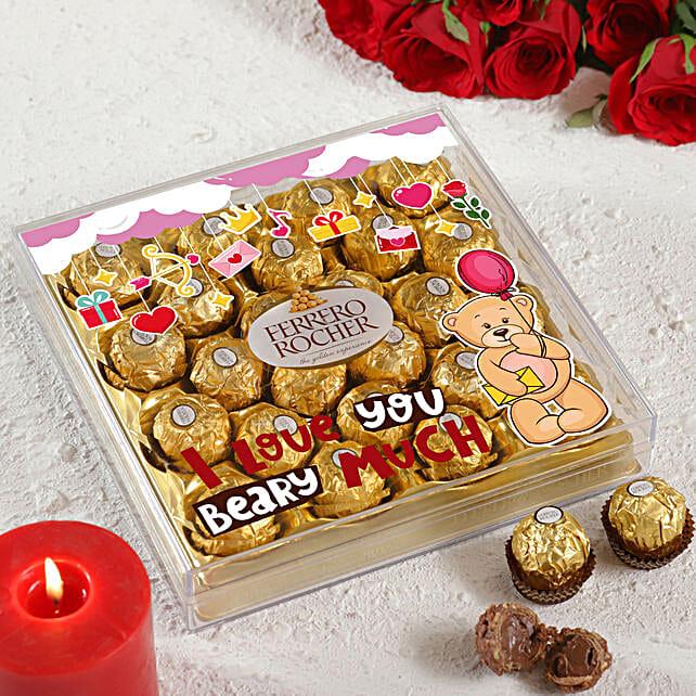 I Love You Beary Much Ferrero Rocher Box