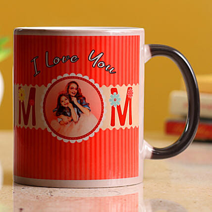 I Love You Mom Personalised Magic Mug Hand Delivery
