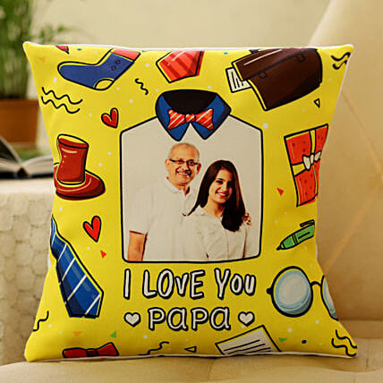 personalised cushion for fathers day