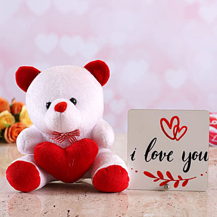 online teddy n table top for vday