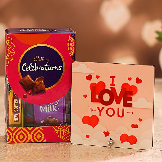 Cute Valentines Gift Combo for Boyfriend