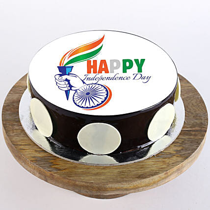 Online Vande Mataram Cake For Independence Day:Independence Day Gifts