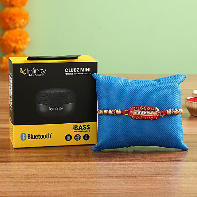 Infinity JBL Bluetooth Speakers Rakhi