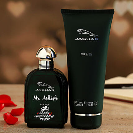 Jaguar Personalised EDT N Shower Gel Set For Men:Personalised Perfumes
