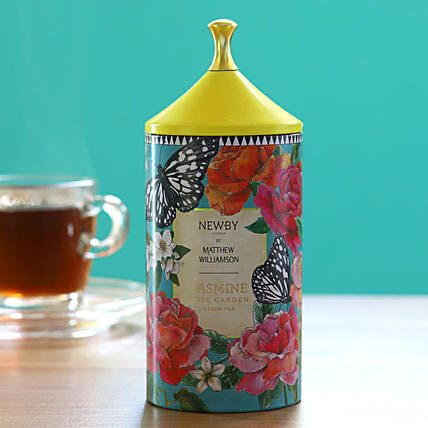 Jasmine Rose Garden Green Tea Pack