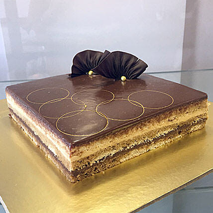 Joyful Opera Cake:Send Cakes to Ajmer
