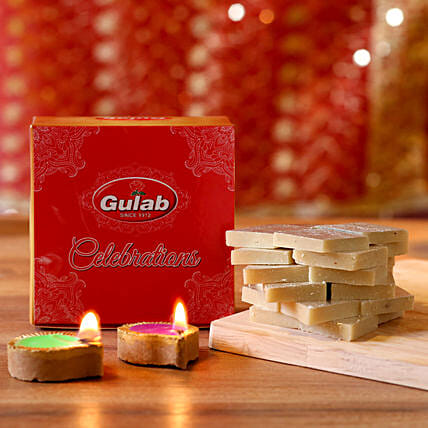 candle n sweet for diwali online