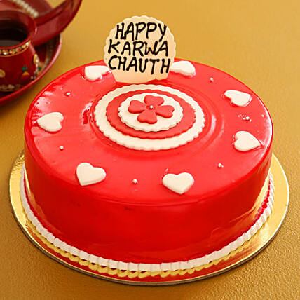 cake for karwa chauth celebration:Karwa Chauth Cakes