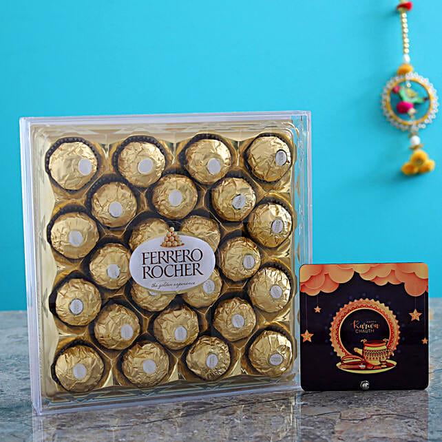 Stars Table Top & 24 Pcs Ferrero Rocher Box