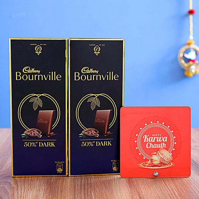 Table Top & 2 Cadbury Bournville