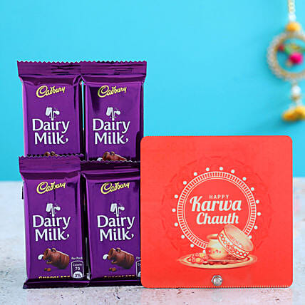 Table Top And Dairy Milk Chocolates Combo