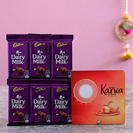 Table Top And 6 Dairy Milk Combo