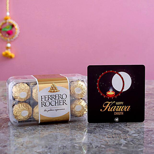 Karwa Moon Table Top & Pcs Ferrero Rocher Box