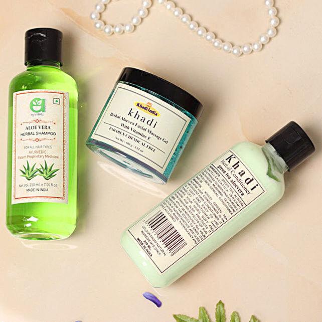 Khadi Herbal Face N Hair Care Combo